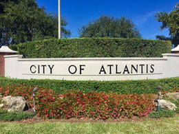 The city of atlantis